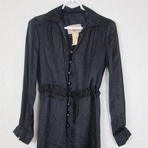 Vintage Black Jumpsuit, Size 7-8